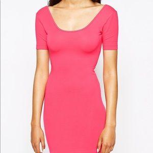 American Apparel Dirty Pink Mini Dress